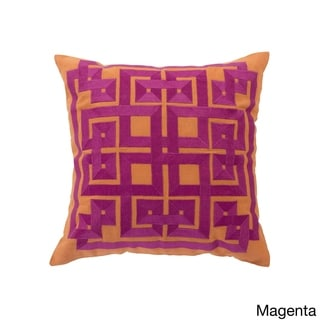 Decorative Felipe Geometric 18-inch Throw Pillow
