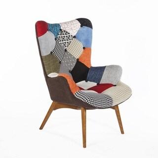 Hans Andersen Home Teddy Bear Style Chair Patchwork