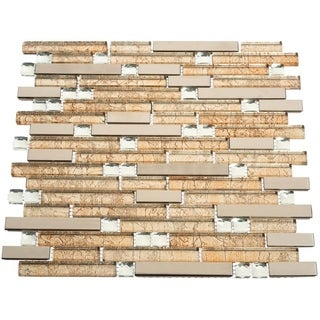 Bari 10.78 square Foot Glass Tiles (Case of 11 sheets)
