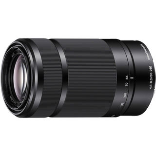 Sony E 55-210mm f/4.5-6.3 E-Mount Lens (Black)