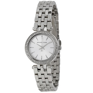 Michael Kors Women's Mk-mk3294 Mini Darci Silvertone Watch