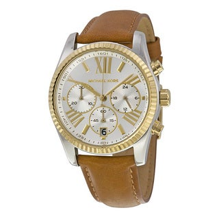 Michael Kors Women's Brown Leather Watch
