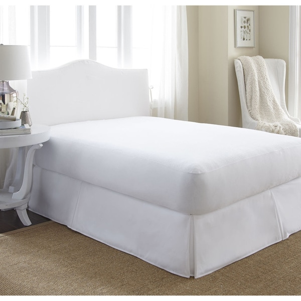 Soft Essentials 100-percent Waterproof Terry Cotton Top Mattress Protector