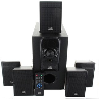Acoustic Audio AA5150 5.1-channel 400W Home Theater Speaker System with Powered Subwoofer