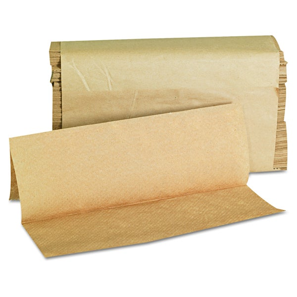 GEN Folded Kraft Paper Towels (16 Packs of 250 Towels)