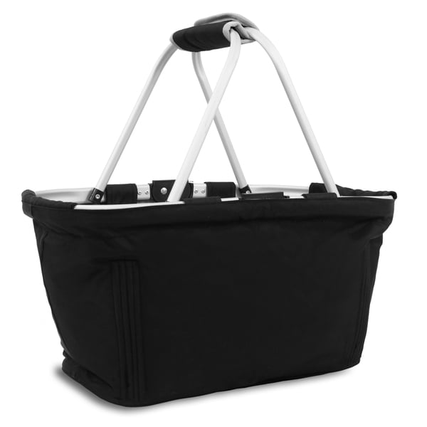 J World Black Pica Reversible Picnic Tote
