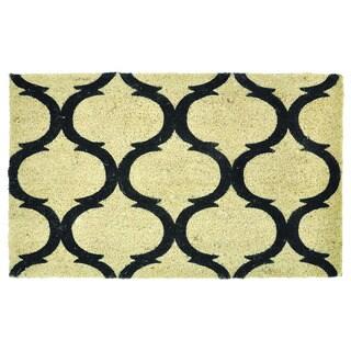 Kosas Home Erlia 18x30 Coir Doormat