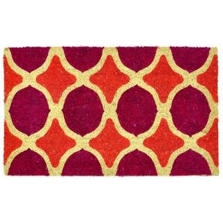 Kosas Home Ines 18x30 Coir Doormat
