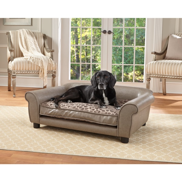 Enchanted Home Pet Rockwell Pet Sofa 17610519 Shopping The Best Prices On
