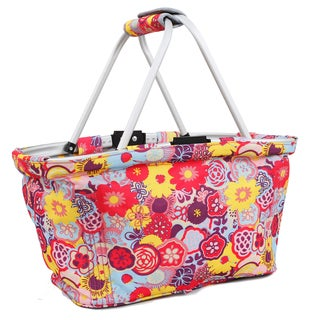 J World Poppy Pansy Pica Picnic Tote