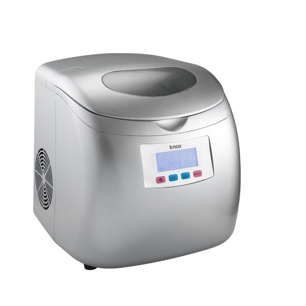 Knox KN-IM27S Silver Compact Ice maker