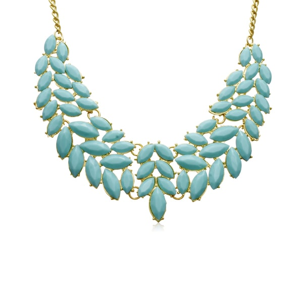 Passiana Turquoise Petal Bib