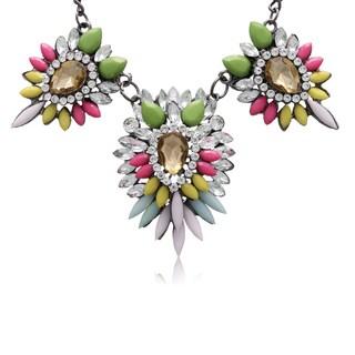 Adoriana Multi Crystal Station Necklace