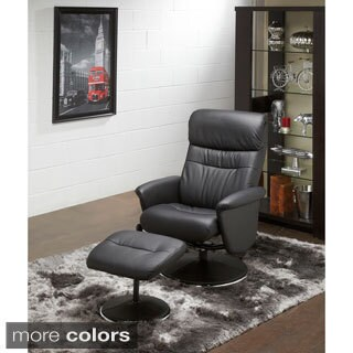 Dallas Recliner Chair with Matching Ottoman
