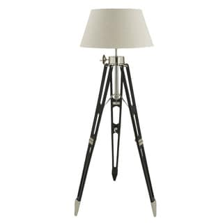 Royal Marine 65-inch Wood Aluminum Tripod Floor Lamp