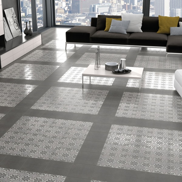 Somertile vendimia ruzafa porcelain floor and for 16 inch floor tile