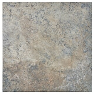 SomerTile 14.1875x14.1875-inch Scaros Egeo Porcelain Floor and Wall Tile (Case of 8)
