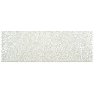 SomerTile 8x24-inch Belize Perla Ceramic Wall Tile (Case of 9)