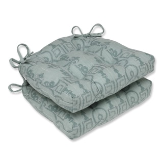 Pillow Perfect Seville Seagrass Reversible Chair Pad (Set of 2)