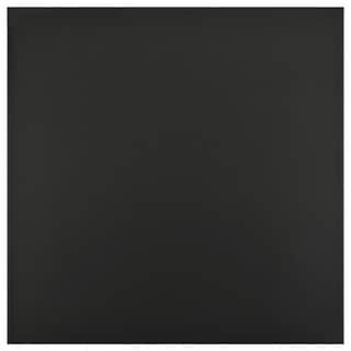 SomerTile 13x13-inch Engel Black Porcelain Floor and Wall Tile (Case of 11)