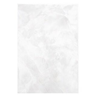SomerTile 7.75x11.75-inch Zeta White Ceramic Wall Tile (Case of 16)