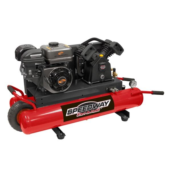 Speedway 6.5 HP Gas Wheelbarrow Air Compressor