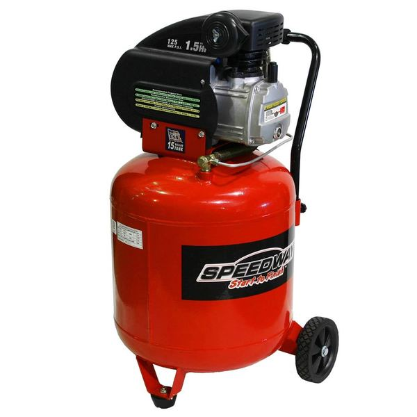 Speedway 15-gallon Vertical Air Compressor