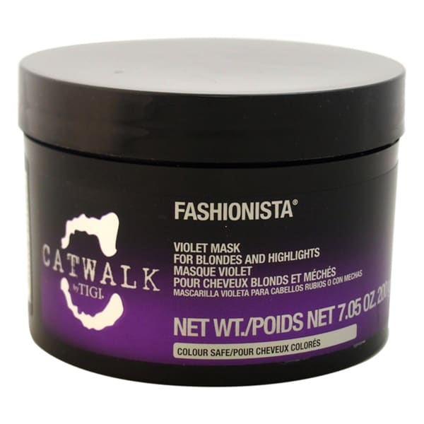 TIGI Catwalk Fashionista Violet Mask For Blondes and Highlights
