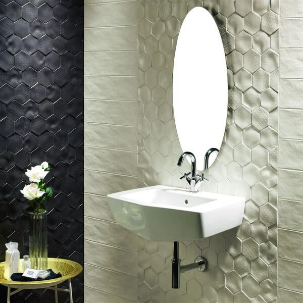 SomerTile 4x5-inch Capri Bianco Porcelain Wall Tile (Case of 36)