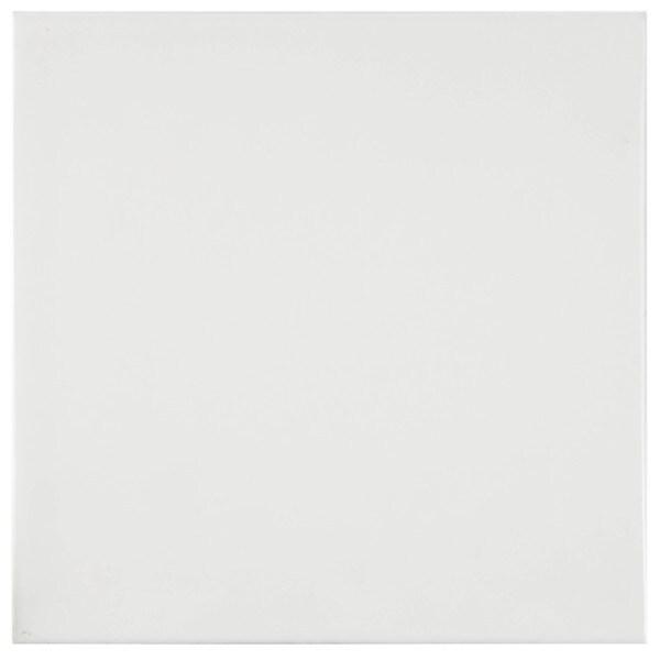 SomerTile 8x8 Provinca Blanco Ceramic Wall Tile (Case of 25)