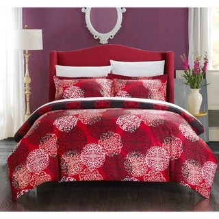 Chic Home 7-piece Justino Boho Inspired Reversible Duvet Cover and Sheet Set
