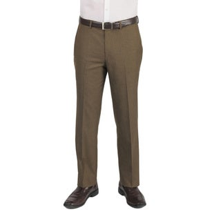 Dockers Performance Men's Graph Texture Straight Fit Solid Walnut Pant