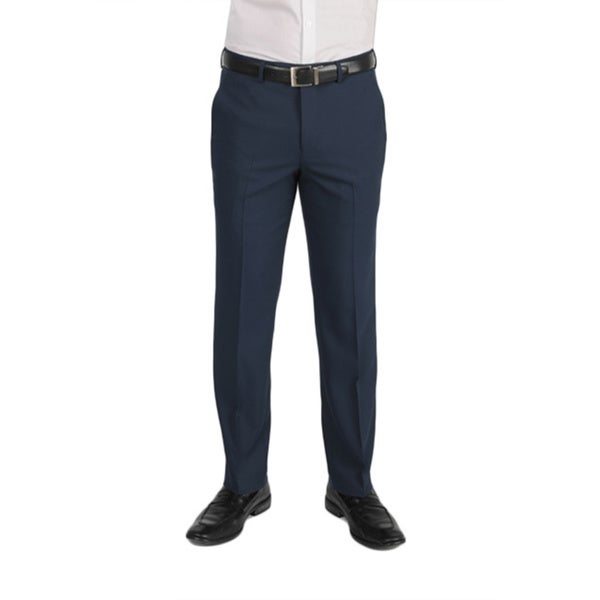 Dockers Performance Men's Variegated Herringbone Slim Fit Navy Pant