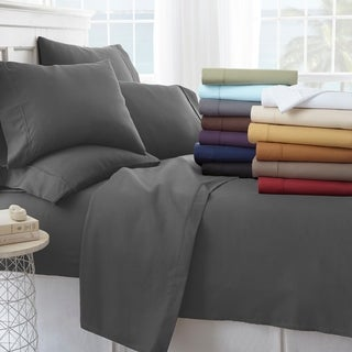 Merit Linens100-percent Brushed Microfiber 6-piece Bed Sheet Set