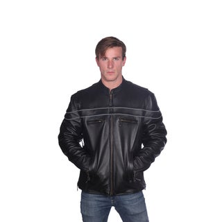 Rudy' Motorcycle Leather Jacket
