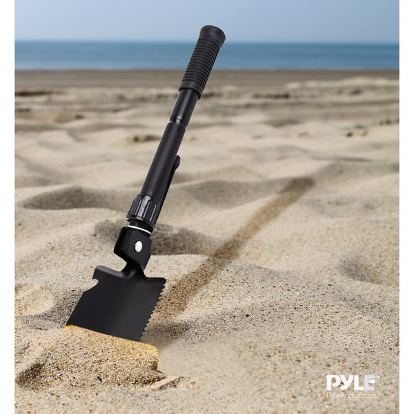 Pyle PHMDSH11 Compact Folding Tactical Utility Shovel
