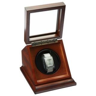 Bombay Company Mahogany Single Watch Winder Case