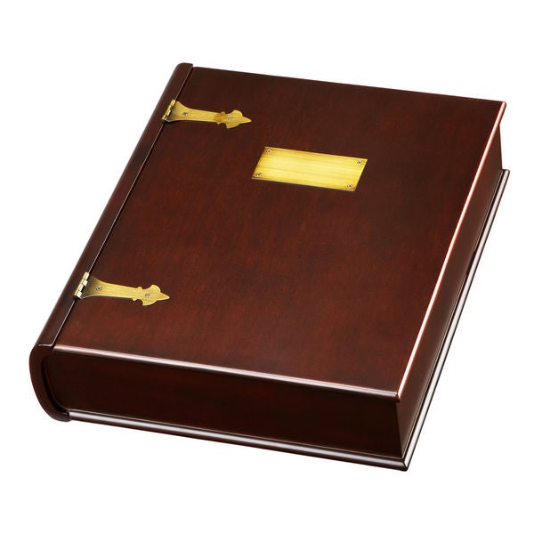 The Memory Box Mahogany Keepsake Box