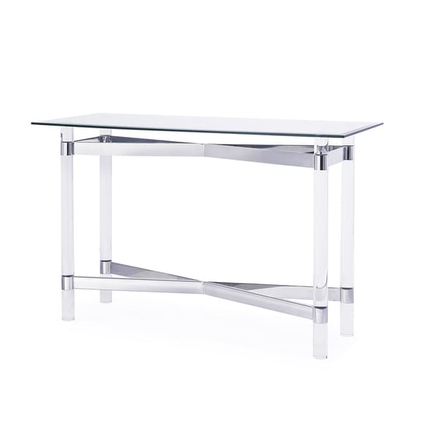 Townsend Console Table Silver 17611656 Shopping Great Deals On Coffee Sofa