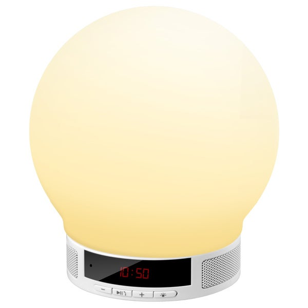 Round Multi-function Bluetooth Speaker Table Lamp Alarm Clock