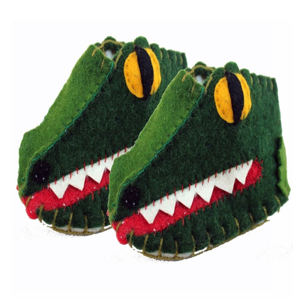 Kid's Gator Wool Zooties (Kyrgyzstan)