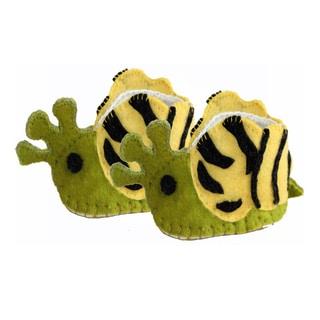 Kid's Snail Wool Zooties (Kyrgyzstan)