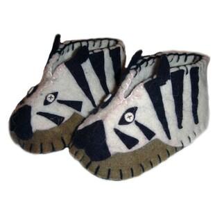 Kid's Zebra Wool Zooties (Kyrgyzstan)