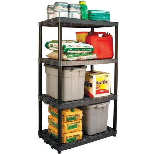 Plano 4 Shelf Heavy Duty Ventilated Unit with Long Poles