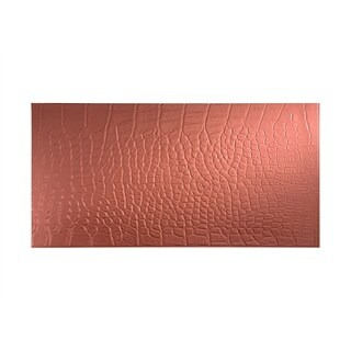 Fasade Cayman Argent Copper Wall Panel (4' x 8')
