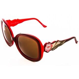 Judith Leiber Women's Jl1674sg Terrazzo Sunglasses