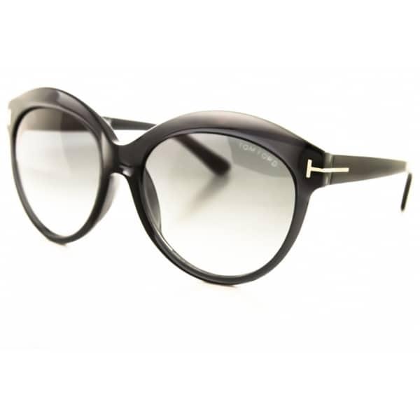 Tom Ford Women's Ft9259 Black/ Grey Gradient Sunglasses
