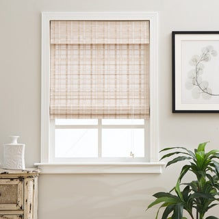 Arlo Blinds Oriental Whitewash Bamboo Blinds