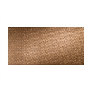 Fasade Connect Cracked Copper Wall Panel (4' x 8')