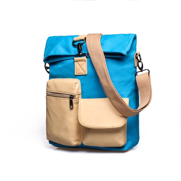 Something Strong, Men's, Blue Canvas, Messenger Bag